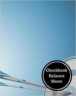 checkbook balance sheet check register insignia accounts