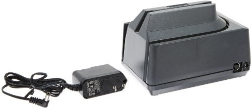 MagTek 22533003 Mini MICR Check Reader with USB Interface, 17 in/s Scan Speed, 12V, Dark Gray by MagTek