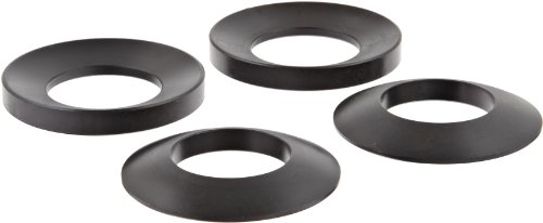 12L14 Steel Spherical Washer, Black Oxide Finish, Male & Female Assembly, 1-1/2'' Hole Size, 2-7/8'' OD, 1/2'' Nominal Thickness, Made in US (Pack of 2) by TE-CO (Image #1)