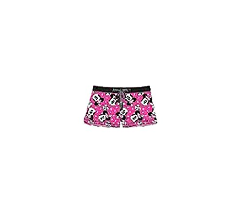 Disney Classic Minnie Mouse Womens Boxer Shorts - Hot Pink by Disney