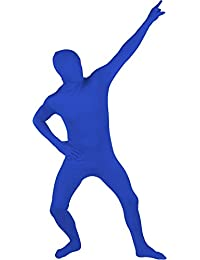 Blue Body Suit Skin Costume