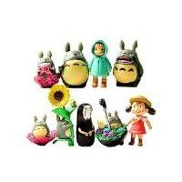 Mi vecino Totoro Figura Hayao MiyazakiPONYO animado lejos Anime modelos por Win8Fong