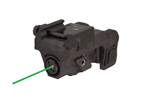 Laser Beam Gun - Pistol Green Laser Sight (USB RECHARGEABLE) for Subcompact and Compact Pistols by HiLight, Model P3G