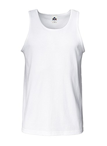 Alstyle Men's Tank Top,white,Medium from Alstyle Apparel & Activewear