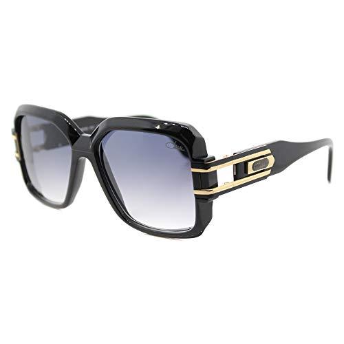 Cazal 623-001 SG Square Sunglasses,Black Frame/Grey Gradient Lens,57 mm (Cazal Shop)