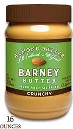 Barney Butter Crunchy Almond Butter - 3 pk.