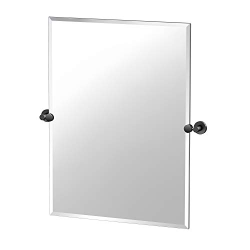 Gatco Glam Frameless Rectangle Mirror, 31.5-inch, Matte -