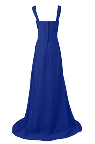 Pageant da Graceful d'onore Empire Royal da Style Blue abito Gowns donna damigella Sunvary abiti 40vnx0p