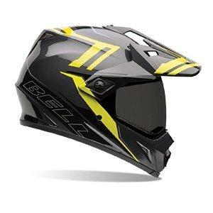 Bell Unisex-Adult Off Road Helmet (Barricade Hi-Vis, Large) (MX-9 Adventure D.O.T certified) (Velocity Off Road Helmet)