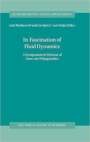 In Fascination of Fluid Dynamics: A Symposium in Honour of Leen van Wijngaarden