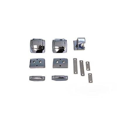 Replacement Chrome Latches for Harley Davidson Tour Pack (Chopped/Razor/King): Automotive