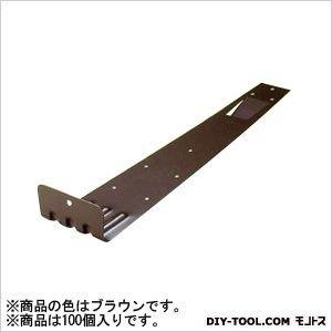 アミリ ステン扇型 (後付) 2型 ステン430 ブラウン H45×W83×D355 (U-12-4) 100個 B01DNK6CTG