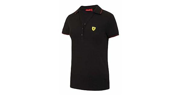 Venta. Scuderia Ferrari F1 - Polo clásico, negro: Amazon.es ...