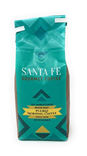 (Santa Fe Gourmet Pueblo Morning Coffee Whole Bean 12 oz bag)
