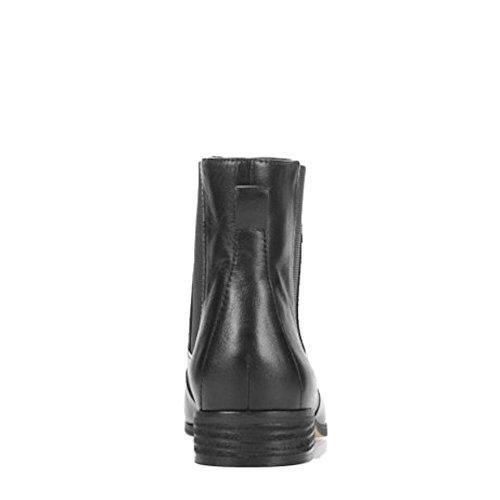 Dr. Scholls Collection Originale Pour Femme Lane Gore Leather Bootie Cuir Noir