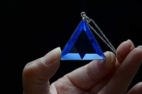 (Blue Siberian Crystal Quartz Star of David Marcel Vogel Cut 1.45 Inch 925 Silver Sterling)