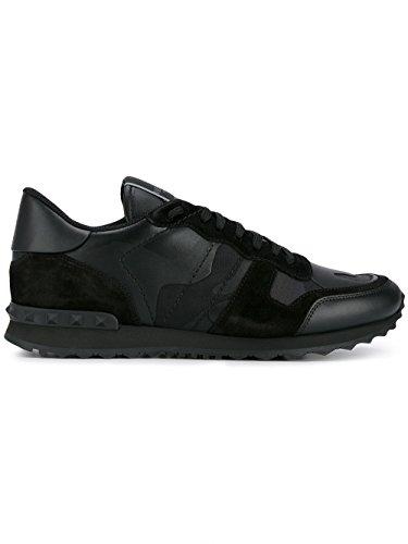 Valentino Garavani Zapatillas Para Hombre Negro Negro It - Marke Größe