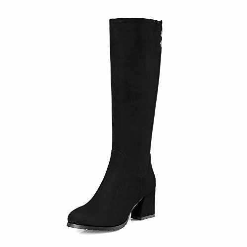 BalaMasa Abl09441 Sandales Compensées Femme Noir, 38.5 EU, ABL09441