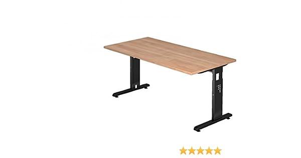Dr de oficina escritorio 160 x 80 cm – Altura regulable: 65 – 85 ...