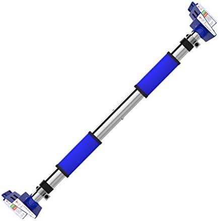 ドアジム 懸垂バー ドア 水平バー,チンニングバー 懸垂バー ドアム,懸垂バー チンニングバー,プルアップバードアジム 鉄棒 ぶら下が 健康器, 背筋 腹筋 筋力トレーニング (Color : Blue, Size : 130~176cm)