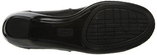 Camminando Culle Womens Cloud Flat Black New Softy Leather