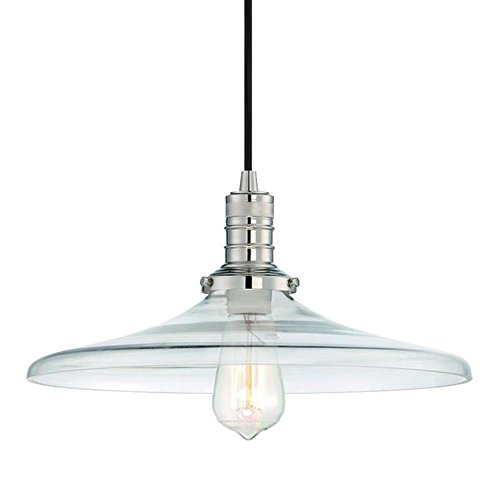 Langdon Mills 10605 Tremont Pendant Light, Polished Nickel