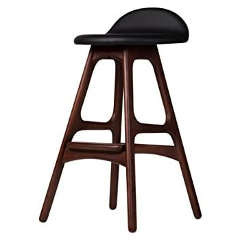 Amazon Com Erik Buch Od Mobler Inspired Teak Bar Stool