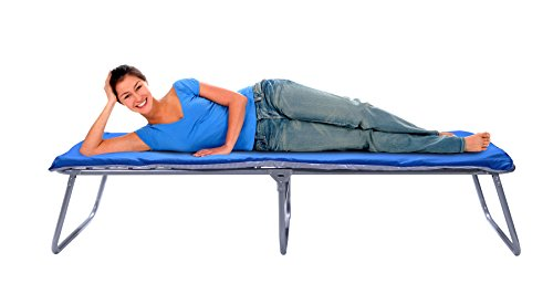 GigaTent Folding Comfort Camping Cot with Mattress by GigaTent
