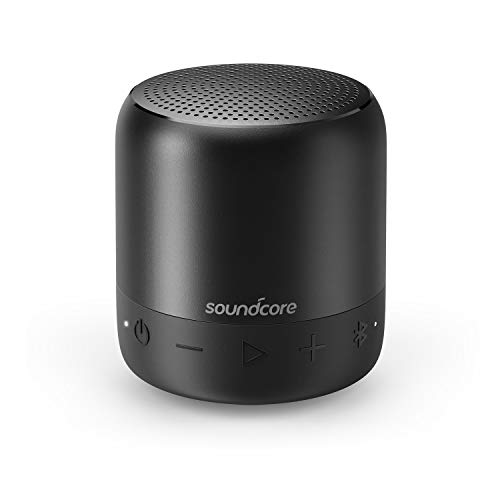 Soundcore Mini 2 Pocket Bluetooth IPX7 Waterproof Outdoor Speaker by Anker, Shower Speaker with Powerful Sound, Enhanced Bass, 15-Hour Playtime, Wireless Stereo Pairing, and Ultra-Portable Design