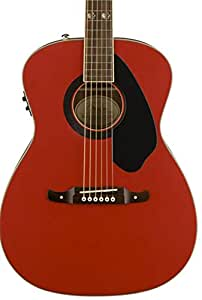 fender fsr tim armstrong hellcat acoustic electric guitar ruby red musical instruments. Black Bedroom Furniture Sets. Home Design Ideas