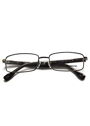 D&g Torpedo Logo Dd5094 Eyeglasses 1061 Matte Gunmetal Demo Lens 52 16 -