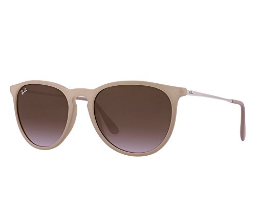 Ray Ban RB4171 600068 54mm Dark Rubber Sand Erika Sunglasses Bundle-2 - Rayban Erika Rb4171