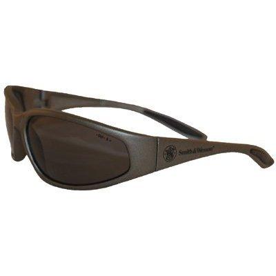 Scratch-Resistant 19871 Smith /& Wesson Smoke Polarized Safety Eyewear