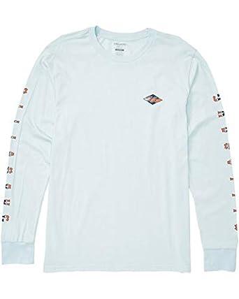 3db58c6282 Amazon.com: Billabong Men's Heritage Long Sleeve T-Shirt Coastal Large:  Clothing