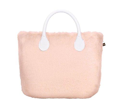 O Bag Mini Cover in Ecopelliccia Lapin Phard