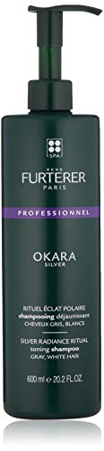 Rene Furterer Okara Silver Toning Shampoo for Gray, White Hair, 20.2 Fl. Oz.