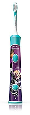 Philips Sonicare for Kids Ice Age, Bluetooth Connected Rechargeable Electric Toothbrush, HX6321/05