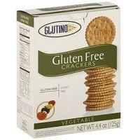Glutino Gluten Free Flour (Glutino Vegetable Crackers ( 6x 4.4 Oz))