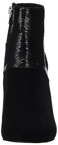 Basic Bleu Mare Femme Negro combi Bottines Calzado Maria Señora Noir Sx5nY77q