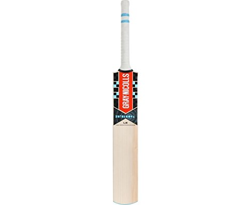 (Gray-Nicolls Supernova Strike Adult Cricket Bat, Natural, Short Handle - Medium Weight)