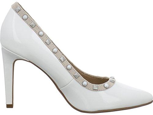 21 Sintético 2 Mujer 22409 White Combi De Marco Zapatos 2 Material 549 Tacón Tozzi wqTPBIvR