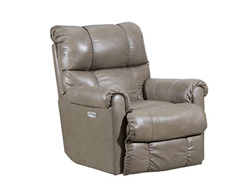 Lane Home Furnishings 4208P-19 Soft Touch Taupe Power Rocker Recliner