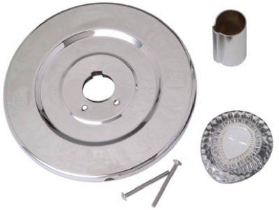 Brass Craft Service Parts SK0230 Moen Tub & Shower Plumb Kit, Chrome Trim