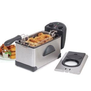 Maxi Matic USA EDF-3500 3.5Qt Cool Touch Deep Fryer (EDF-3500) For Sale
