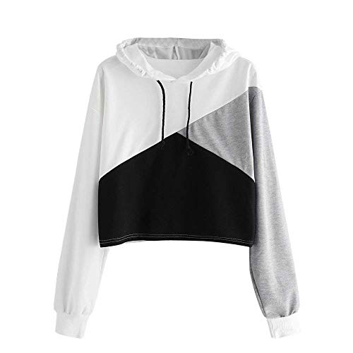 XMNDS Womens Hoodie New Fashion Loose Christmas Casual Womens Letters Long Sleeve Hoodie Sweatshirt Hooded Pullover Tops Blouse