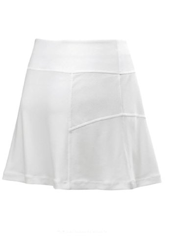 Wilson Rush Flare 13.5 Skirt (S, White) (Skirt White Wilson)