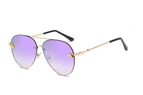 de Sol C Retro de Ojos Intellectuality Sol C polarizadas Gafas Hombre Mujer Personalidad de Gafas COYHO8