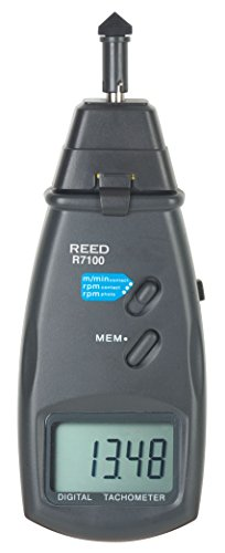 REED Instruments R7100 Combination Contact / Laser Photo Tachometer by REED Instruments