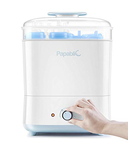 Papablic Baby Bottle Electric Steam Sterilizer and Dryer from Papablic