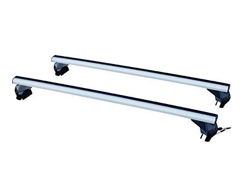 La Prealpina CI38LP50 Coppia di Barre PORTATUTTO in Alluminio LP59 per Veicoli con CORRIMANO O Railing